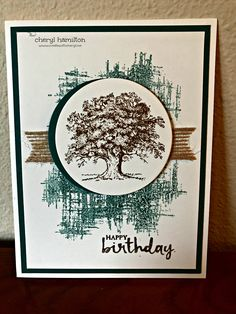 Stampin' Fun with Diana: SSINKspiration Case A Designer: Cheryl Hamilton