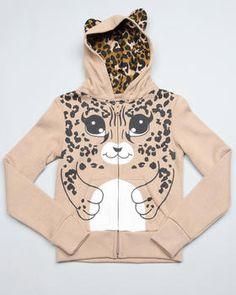 Cute hoodie for Girls jee