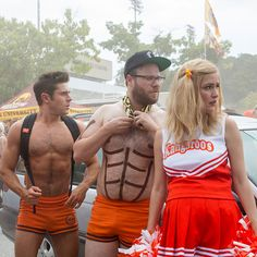 So Occupy Wall Street finally comes to the big screen, but in an unexpected disguise, as Neighbors 2: Sorority Rising, a carnival combining Millennial social movement and mob mentality. Canadian comic actor Seth Rogen retools his 2014 hit by translating youth privilege and entitlement into ridicule of conservative alarm. Suburbanite yuppies Mac and Kelly Radner (Rogen and Rose Byrne) go into panic once again when the fraternity house next door becomes home to bratty Kappa Nu sorority girls…
