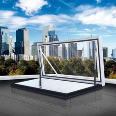 Gallery of Roof hatch - Glazed RHTG - 5 Roof Access Hatch, Roof Hatch, Basement Window Well, Basement Windows, Deck Stairs, Roof Deck, Glazed Glass, Roof Lantern, Translucent Glass