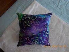 Purple Batik Pillow