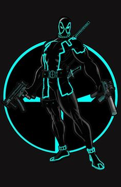 Deadpool tron