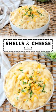 This Shells and Cheese Recipe is an easy, quick-fix dish that comes together in 20 minutes and always turns out perfect. Serve this Mac and Cheese as the main event for a kid-friendly dinner or as a fan-favorite side at holidays, BBQ's, potluck parties, and more! Snacks Recipes, Cheese Recipes, Healthy Snacks, Cooking Recipes, Cheese Stuffed Shells, Macaroni Recipes, Kid Friendly Dinner, Side Dish Recipes, Yummy Yummy