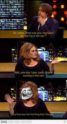 Another reason to love Adele. xD