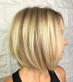 Layered Straight Bob for Thin Hair