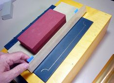 This post shows tooling on a full leather binding using gold foil. I used my tooling box that I made based on a box used by Michael Wilcox...