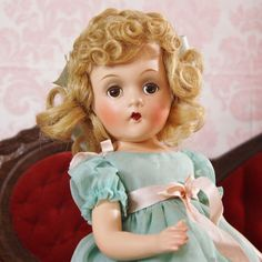 """from the 1930's- the 13"""" Wendy Ann doll by Madame Alexander."""