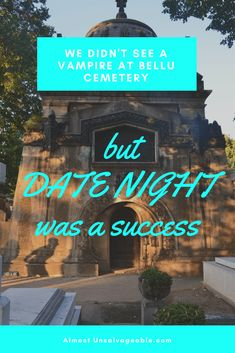 When a househusband gets to choose date night, anything can happen. #datenight #vampire