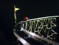 Anyone remember the toy roller coaster segment from Sesame Street 1970?
