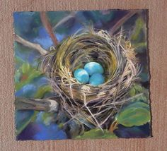 Robins Nest by Cynthia Underwood