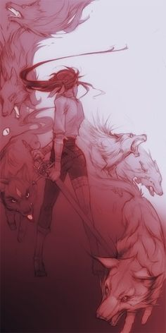Badder Wolf by shirotsuki.deviantart.com on @deviantART