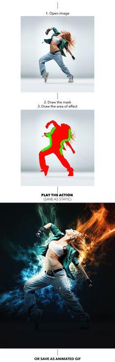 You may also like: Gif Animated Ephemera Photoshop Action Gif Animated Fire Photoshop Action Gif Animated Lines Photoshop Ac...