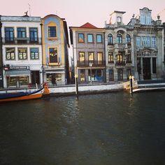 Portuguese Venice - Aveiro Photo by viajartudodebom #Portugal
