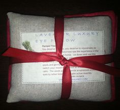 Flax Seed EYE PILLOW-Free Shipping-Relax, Release and Rest-Soothing Natural Relief Lavender  or Breathe Ease on Etsy, $17.00
