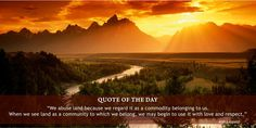 #Quoteoftheday #ProtectEnvironment #AMAHerbal http://www.amaherbal.com/