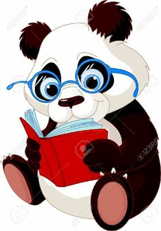 Buy Panda Education by Dazdraperma on GraphicRiver. Cute Panda with glasses reading a book. Bear Vector, Vector Art, Bear Clipart, Vector Illustrations, Vector Stock, Image Panda, Panda Lindo, Panda Art, Animal Wall Decals