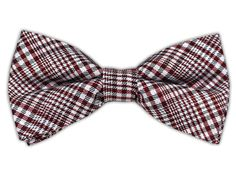 - Twilight Plaid - Red (Linen Bow Ties)