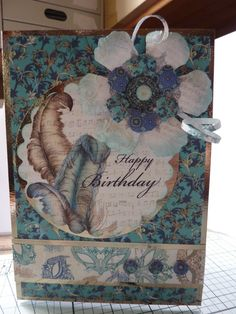 Handmade by Claire Lorraine: Craftwork Cards Venetian Collection 2