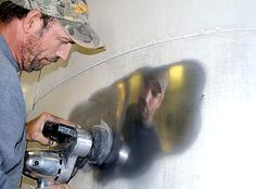 Airstream Restoration: Professional Polishing