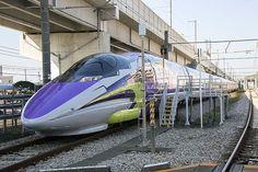 Ontwerp is Mr. Japan Train, Rail Train, Rolling Stock, Train Tracks, Model Trains, Locomotive, Railroad Tracks, Transportation, Bullet