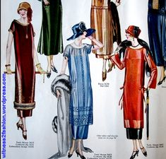 1924 one hour dress - Google Search