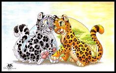 Leopard Love by DolphyDolphiana