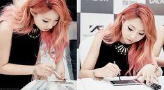 I love Minzys hair color ❤️ I'm so sad she left though cxx