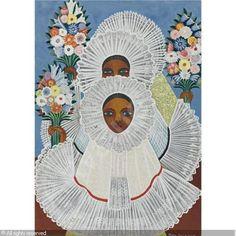 ROLANDA Rosa,TEHUANAS,Sotheby's,New York