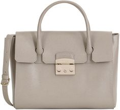 Furla Sabbia Metropolis Leather Satchel