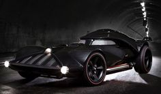 Hot Wheels reveals life-size Darth Vader car at San Diego Comic-Con (2014)
