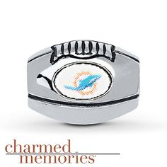 Charmed Memories® Miami Dolphins Charm Sterling Silver