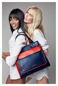 Naomi Campbell y Claudia Schiffer, en la campaña solidaria de Tommy Hilfiger.