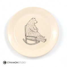 Super cute plates with bears! :) Pakamera.pl