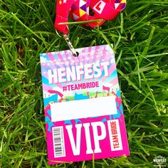 FESTIVAL BRIDES | Hen Party Festival Wristbands from Wedfest!