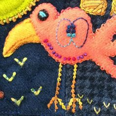 Four days of Folk-Tails starts Monday. Join us Monday for NEW items that are inspired by Sue's new book Folk-Tails! Folk-Tails will be released this Thursday! You don't want to miss it! #suespargo #creative stitching #creativetexturing #folktails #africa #comingsoon #handmade #craft #embroidery #embroideryinstaguild