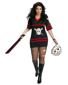 Miss Voorhees out fit has been ordered !!! Cant wait !   :The mask is a purse: