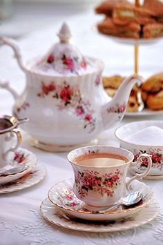 a-bite-of-britain-the-perfect-cup-of-tea/ floral tea set