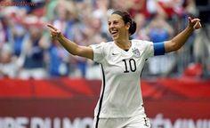 US captain Carli Lloyd joins Manchester City women