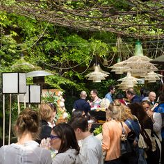 Spazio Rossana Orlandi is part design-shop, part gallery, part sun-dappled courtyard cafe at Milan Design Week