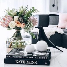 Coffee table situation #cooee #ballvase #onthetable @oh.eight.oh.nine