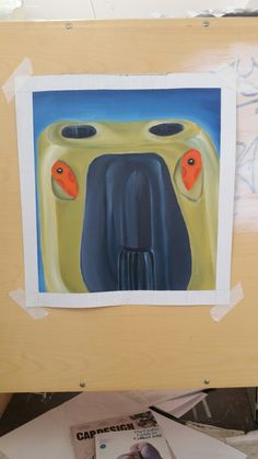 Ansikts oljemålningar