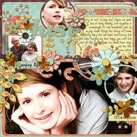 A Project by fruitysuet from our Scrapbooking Gallery originally submitted 03/31/12 at 05:22 AM