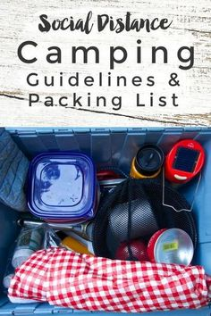 Social Distance Travel: No Contact Camping Packing List and Guidelines - Responsible, safe travel tips and what to pack for tent camping trips during COVID-19 Coronavirus pandemic | Intentional Travelers Packing List For Vacation, Road Trip Packing, Packing For A Cruise, Packing Checklist, Packing Tips, Camping Packing Hacks, Road Trips, Responsible Travel, Travel Tips