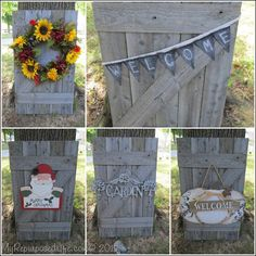 fun things to make with old fence boards