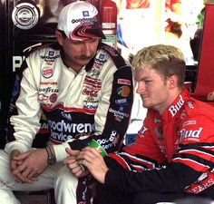 Dale Earnhardt Sr. & Dale Earnhardt Jr.