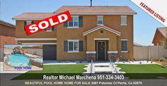For Sale 3467 Potomac Ct, Perris, CA 92570 Realtor Michael Marchena Home Team