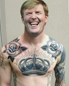 Our King Willem-Alexander (The Netherlands) photoshopped ;-)