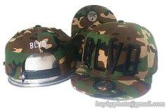BLVD Supply Snapback Hats Flat Hat Adjustable Caps Camo 26