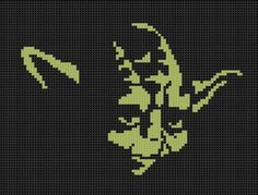 Yoda Cross Stitch ... by bracefacepatterns | Embroidery Pattern - Looking for your next project? You're going to love Yoda Cross Stitch Pattern by designer bracefacepatterns. - via @Craftsy