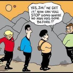 Funny People Pictures, We Got It, The Final Frontier, Funny Cartoons, Star Trek, Jokes, How To Get, Humor, Comics
